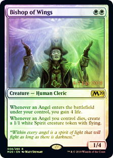 Bishop of Wings - Foil - Prerelease Promo