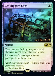 Grafdiggers Cage - Foil - Prerelease Promo