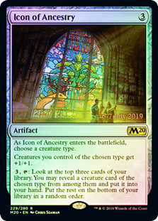 Icon of Ancestry (M20 Prerelease Promo)