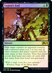 Legion's End - Foil - Prerelease Promo