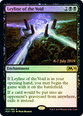 Leyline of the Void - Foil - Prerelease Promo