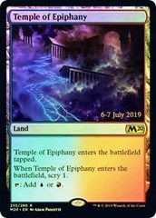 Temple of Epiphany - Foil - Core Set 2020 Prerelease Promo