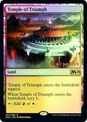 Temple of Triumph - Foil - Core Set 2020 Prerelease Promo