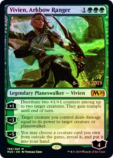 Vivien, Arkbow Ranger - Foil - Prerelease Promo