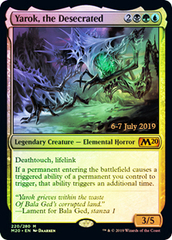 Yarok, the Desecrated (M20 Prerelease Promo)