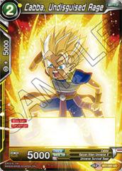 Cabba, Undisguised Rage - BT7-081 - UC - Foil