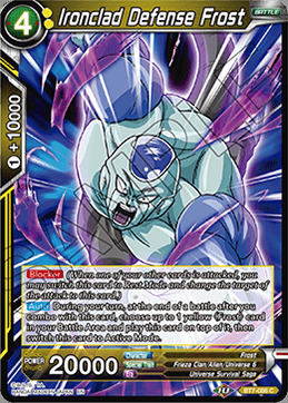 Ironclad Defense Frost - BT7-086 - C - Foil
