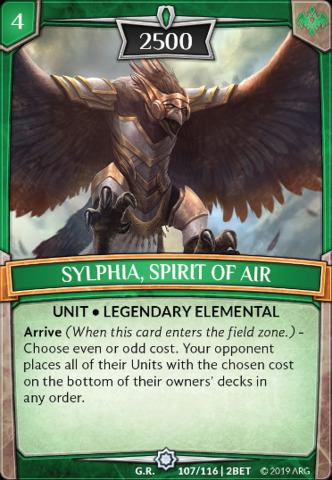 Sylphia, Spirit of Air