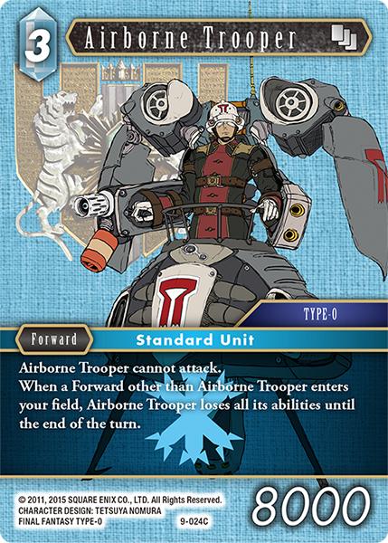 Airborne Trooper - 9-024C
