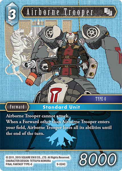 Airborne Trooper - 9-024C - Foil