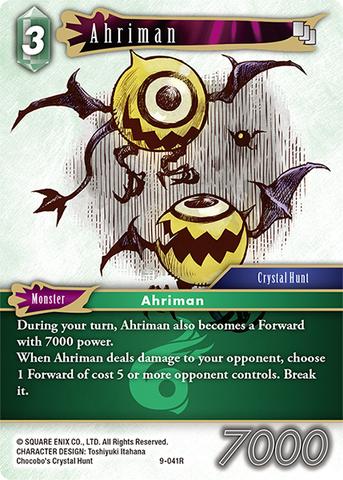 Ahriman - 9-041R