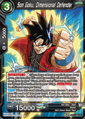 Son Goku, Dimensional Defender - BT7-099 - UC - Foil