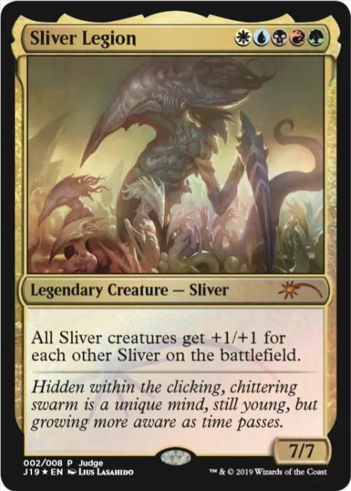 Sliver Legion - Foil DCI Judge Promo