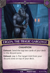 Ergon, the Tragic Gargoyle