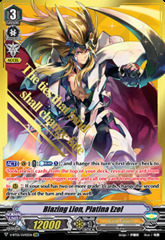 Blazing Lion, Platina Ezel - V-BT05/SV03EN - SVR on Channel Fireball