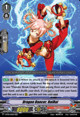 Dragon Dancer, RaiRai - V-BT05/025EN - RR