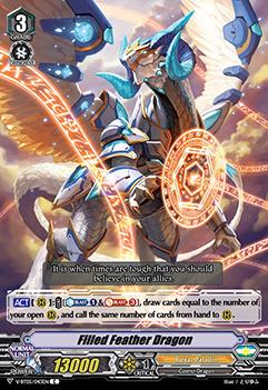 Filled Feather Dragon - V-BT05/043EN - C