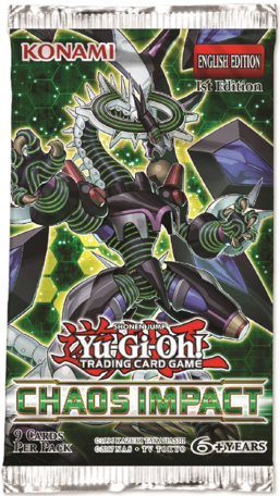Chaos Impact 1st Edition Booster Pack