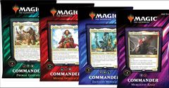 Commander 2019 Set of 4