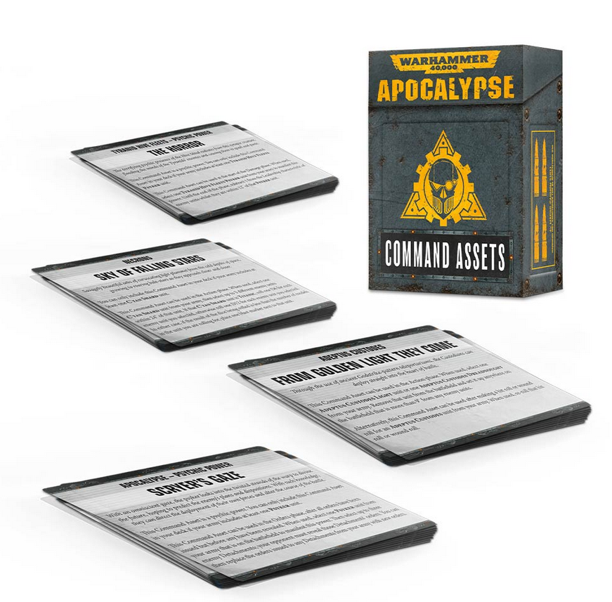 Apocalypse Command Assets (French)