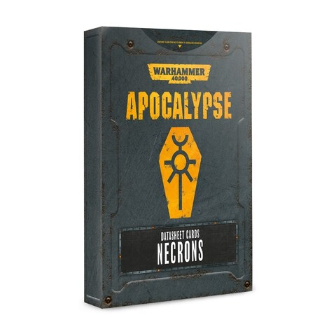 Apocalypse Datasheets: Necrons (Eng)
