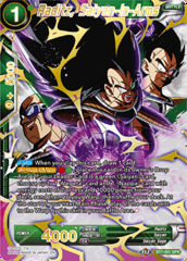 Raditz, Saiyan-In-Arms - BT7-051 - SPR