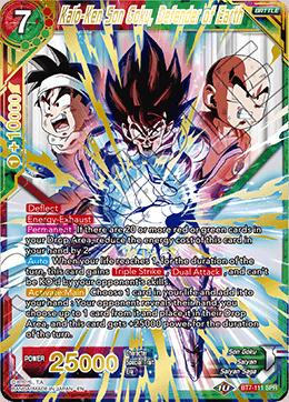 Kaio-Ken Son Goku, Defender of Earth - BT7-111 - SPR