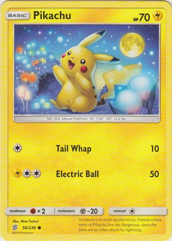 Pikachu - 56/236 - Common