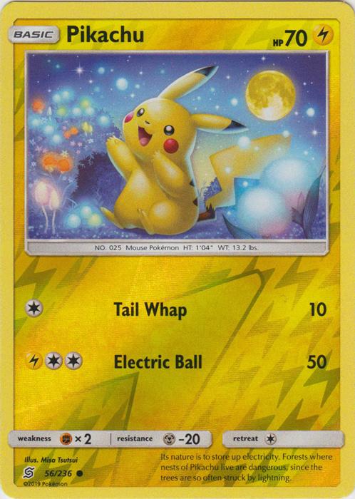Pikachu - 56/236 - Common - Reverse Holo