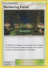 Slumbering Forest - 207/236 - Uncommon