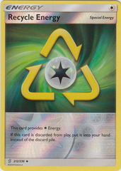 Recycle Energy - 212/236 - Uncommon - Reverse Holo