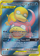 Slowpoke & Psyduck Tag Team GX - 217/236 - Full Art Ultra Rare on Channel Fireball