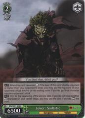 BNJ/SX01-018 U Joker: Sadistic