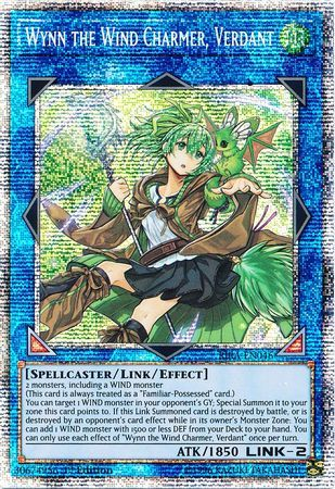 Wynn the Wind Charmer, Verdant - RIRA-EN046 - Starlight Rare - 1st Edition