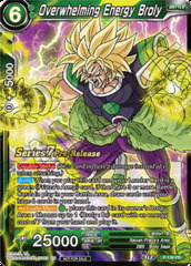 Overwhelming Energy Broly - P-136 - Pre-release (Assault of the Saiyans)