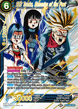 SS2 Trunks, Memories of the Past - BT7-030 - SPR