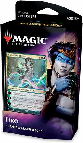 Throne of Eldraine Planeswalker Deck - Oko, The Trickster
