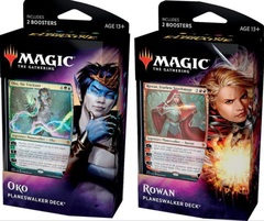 Throne of Eldraine Planeswalker Deck Set of 2 (Intro Pack): Rowan & Oko
