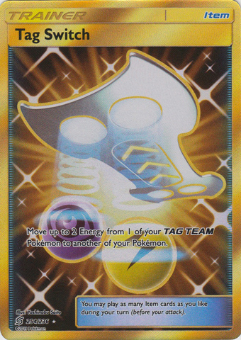 Tag Switch - 254/236 - Secret Rare