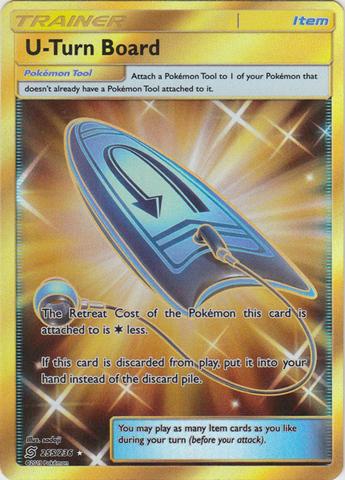 U-Turn Board - 255/236 - Secret Rare