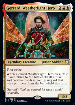 Gerrard, Weatherlight Hero