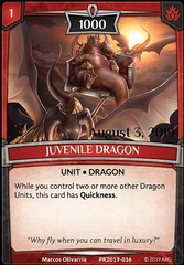 Juvenile Dragon (Stamped)