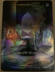 Argent Shard (Serial Numbered)