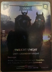 Twilight Knight (Serial Numbered)