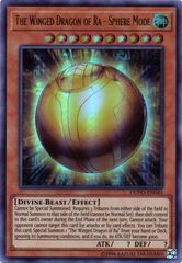 The Winged Dragon of Ra - Sphere Mode - DUPO-EN045 - Ultra Rare - Unlimited Edition