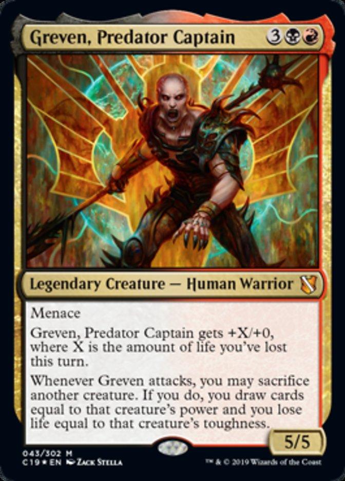 Greven, Predator Captain - Foil