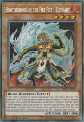 Brotherhood of the Fire Fist - Elephant - FIGA-EN012 - Secret Rare - 1st Edition on Channel Fireball