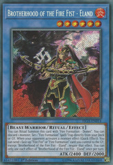 Brotherhood of the Fire Fist - Eland - FIGA-EN014 - Secret Rare - 1st Edition