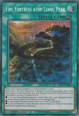 Fire Fortress atop Liang Peak - FIGA-EN018 - Secret Rare - 1st Edition