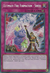 Ultimate Fire Formation - Sinto - FIGA-EN021 - Secret Rare - 1st Edition